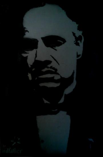 Marlon Brando by Roel
